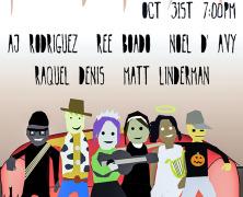 Halloween House Concert